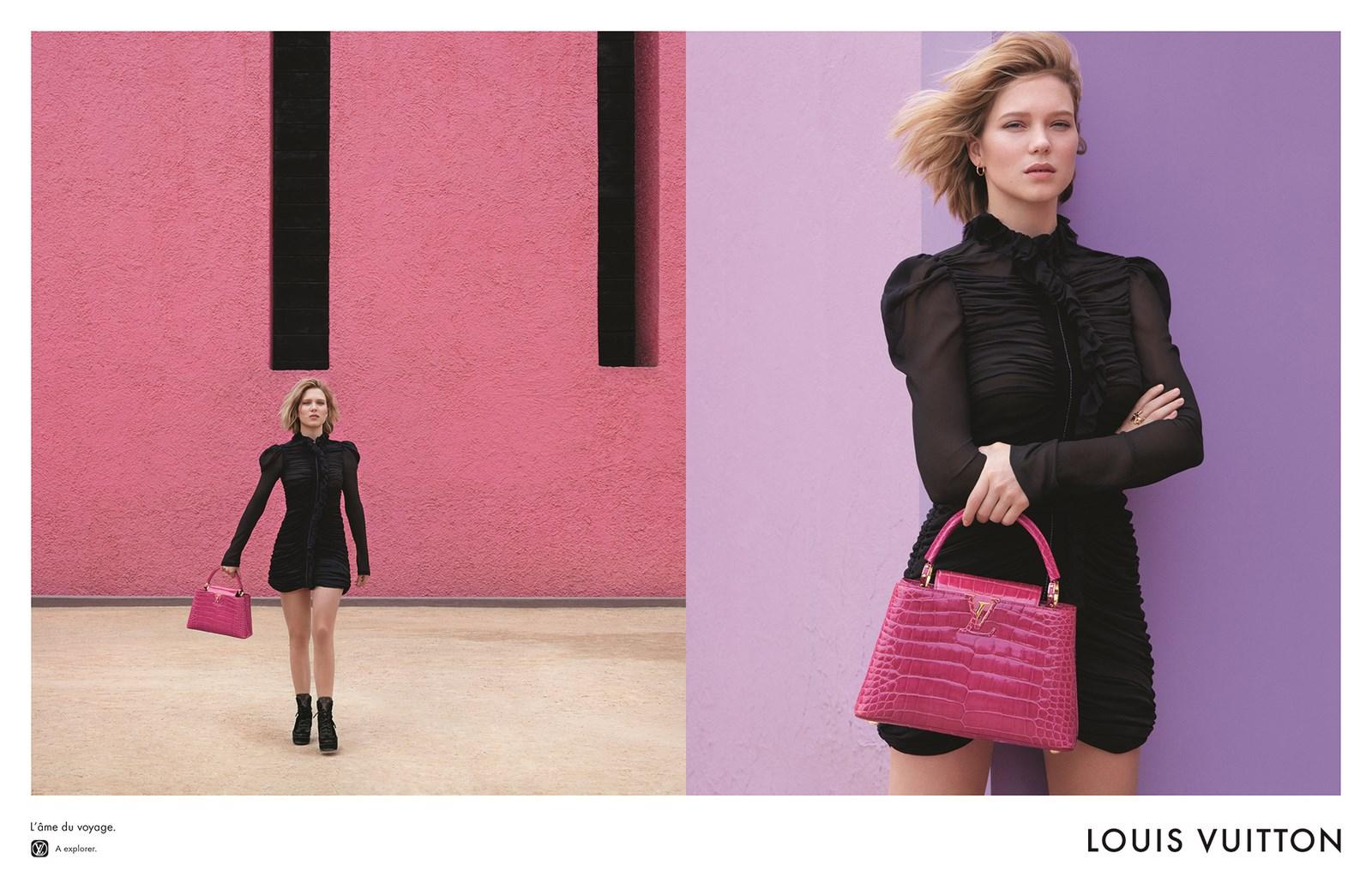 Louis Vuitton présente sa nouvelle campagne publicitaire ...