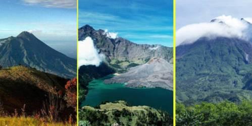 3 gunung misterius dan horor di Indonesia
