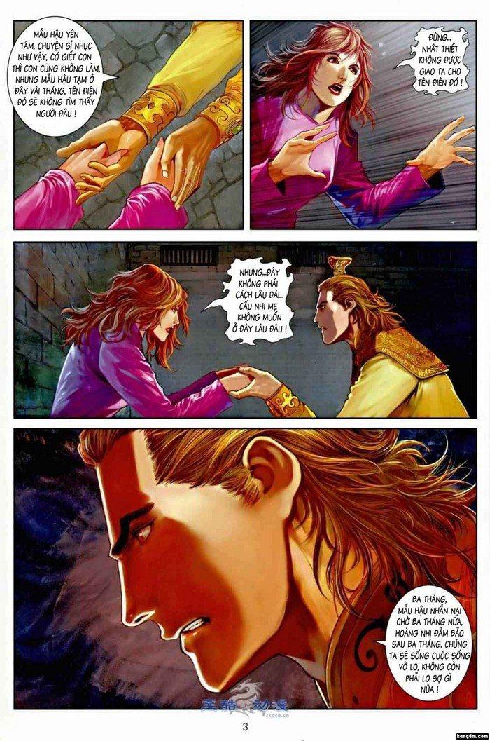 Ôn Thụy An Quần Hiệp Truyện chap 2 trang 3