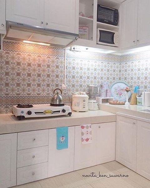 Merveilleux Berikut Contoh   Contoh Dapur Shabby Chic Buat Anda ;