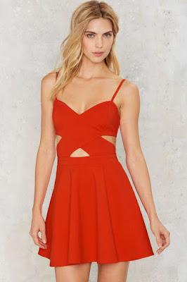 propuestas de Vestidos Rojos