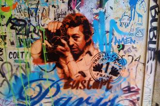 Sunday Street Art : Bustart - impasse des Arbalétriers - Paris 4