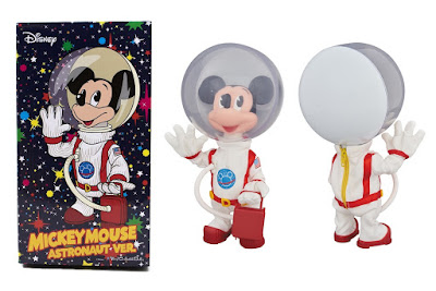 Mickey Mouse Astronaut Vinyl Figure by Billionaire Boys Club x Medicom Toy x Disney