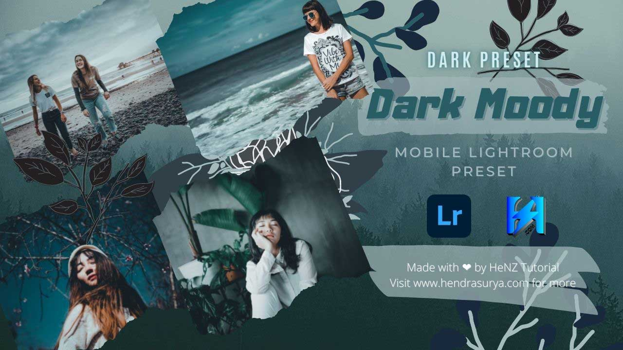 Dark Moody - Mobile Lightroom Preset