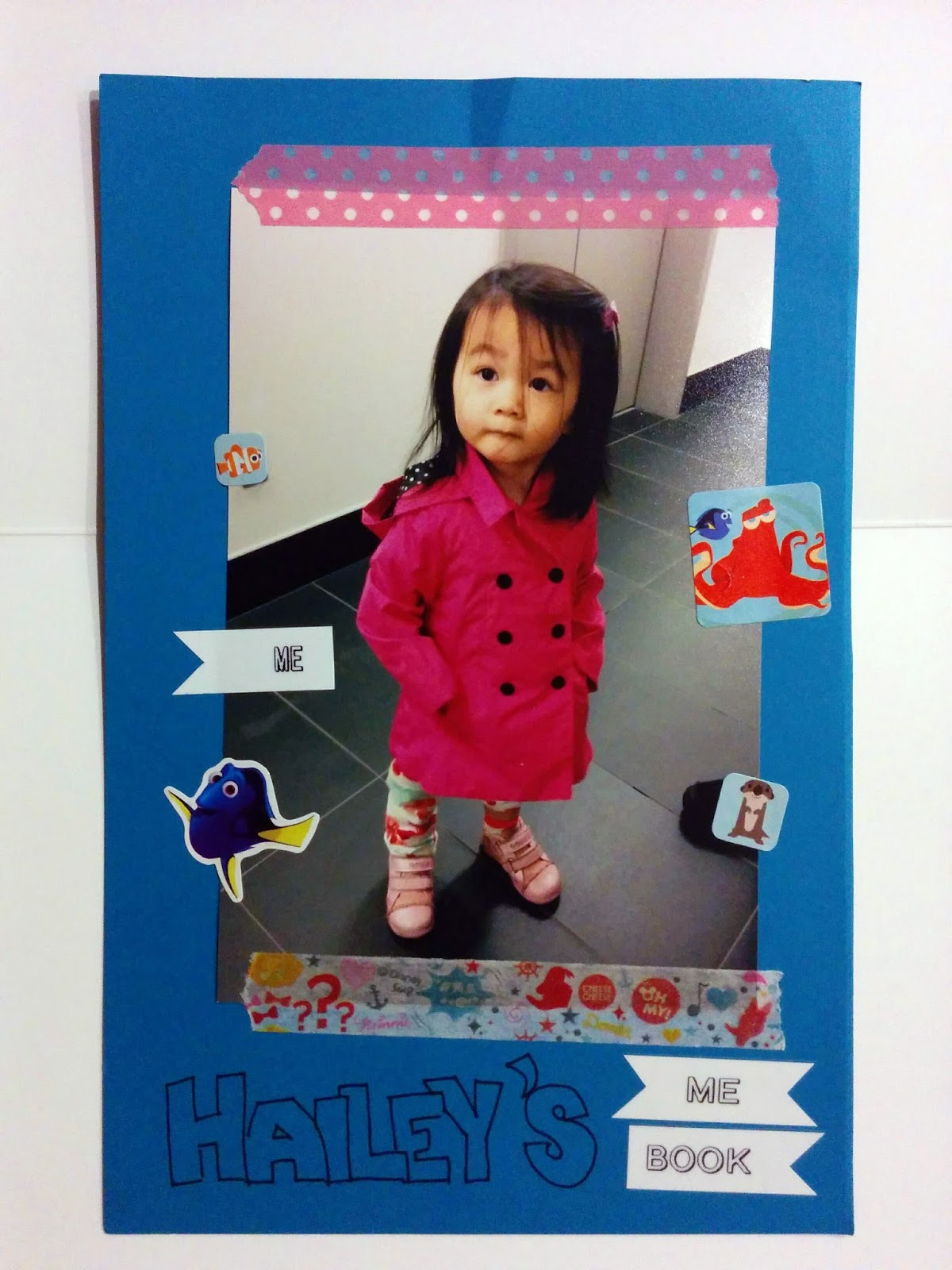 Daycare ME Book, Smashbook, Quick Scrapbook