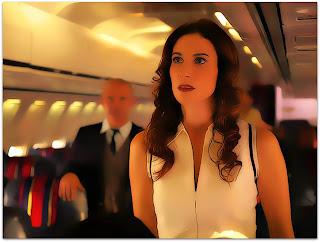 Pasternak (Relatos Selvagens) Isabel assustada no avião