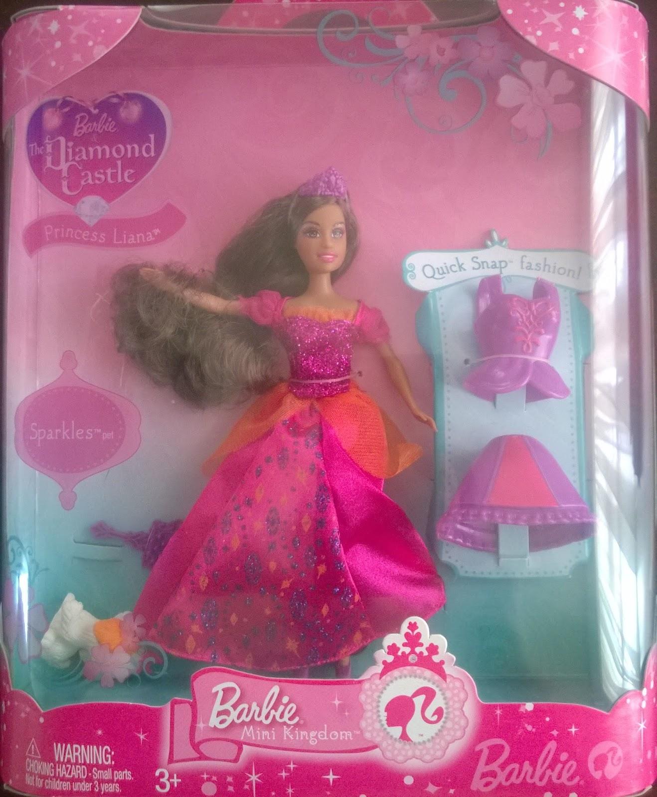 barbie mini kingdom doll identification guide