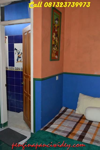 Booking villa di area wisata kawah putih dari mojokerto