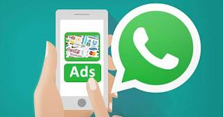 Advertisement on whatsapp