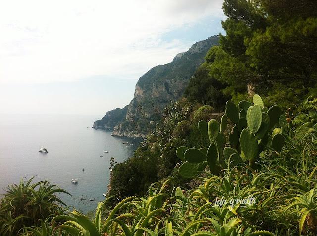 Lugares románticos Capri