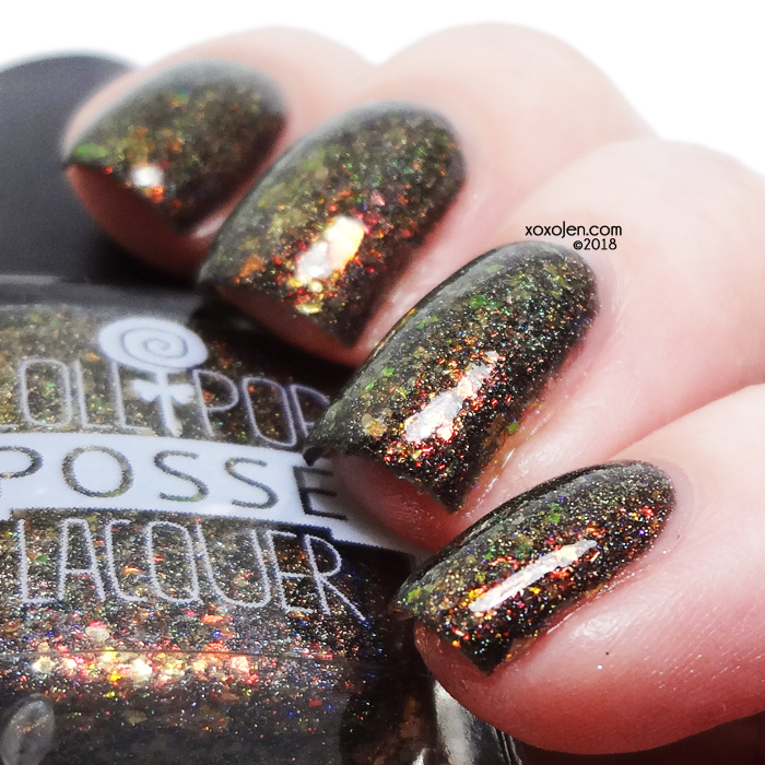 xoxoJen's swatch of Lollipop Posse Lacquer Margo, This Time
