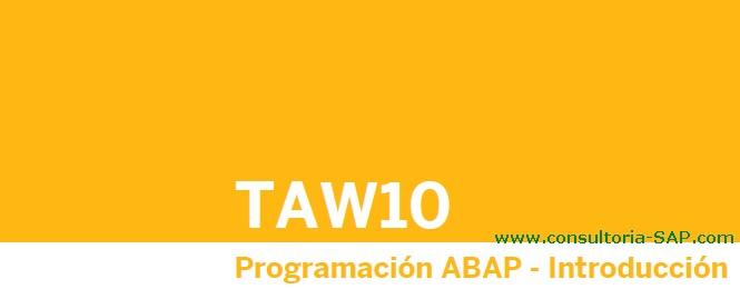 SAP ABAP gratis en español - Consultoria-SAP