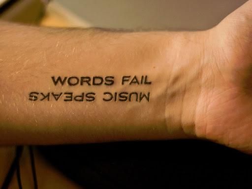 Texto de música tatuagem Ideias