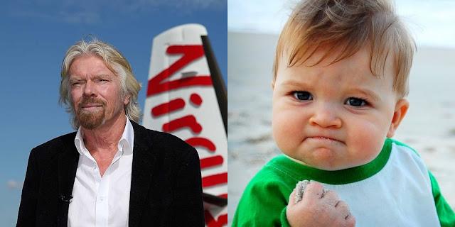 Richard Branson Berbagi Tips Tingkatkan Kesuksesan Masa Depan Anak