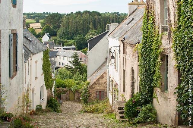 Pont-Croix visitar pueblos bonitos Bretaña diario viaje