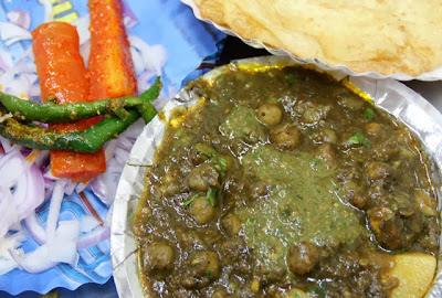 North Indian Speacilty - Chole Bhature