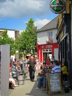 Westport Ireland - Trad on the Octagon