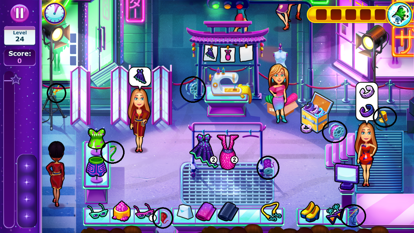 Fabulous Angela S Fashion Fever Mouse Locations