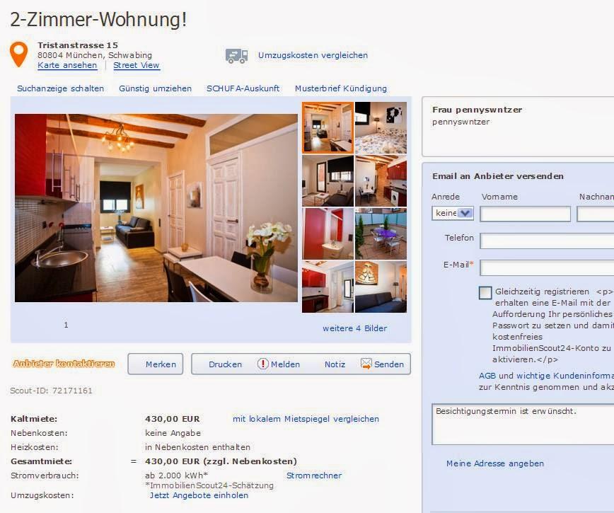 Wohnungsbetrug.blogspot.com: Pennyswntzer +@hotmail.de