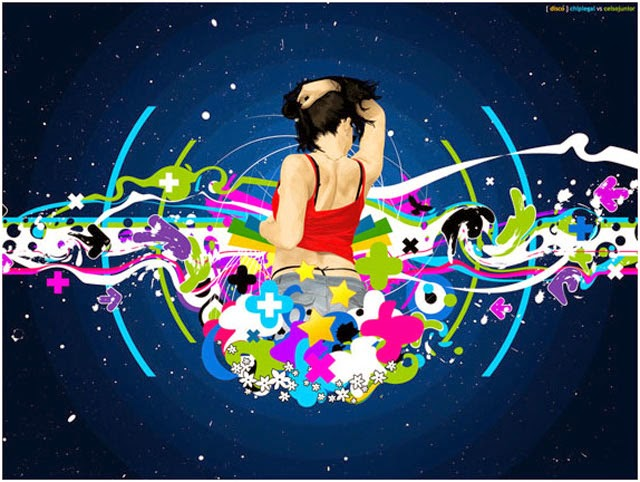 creative vector and cool wallpapers design on Devine Art