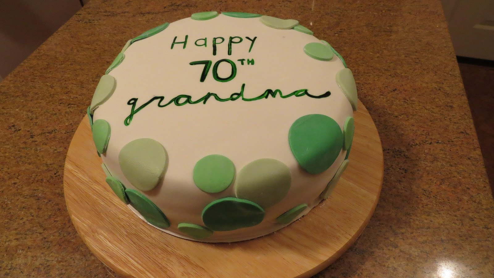 My Coworker Shannons Mom Known By Most As Grandma Celebrated Her 70th Birthday This Weekend After A Big Dinner Out With The Family Shannon Requested