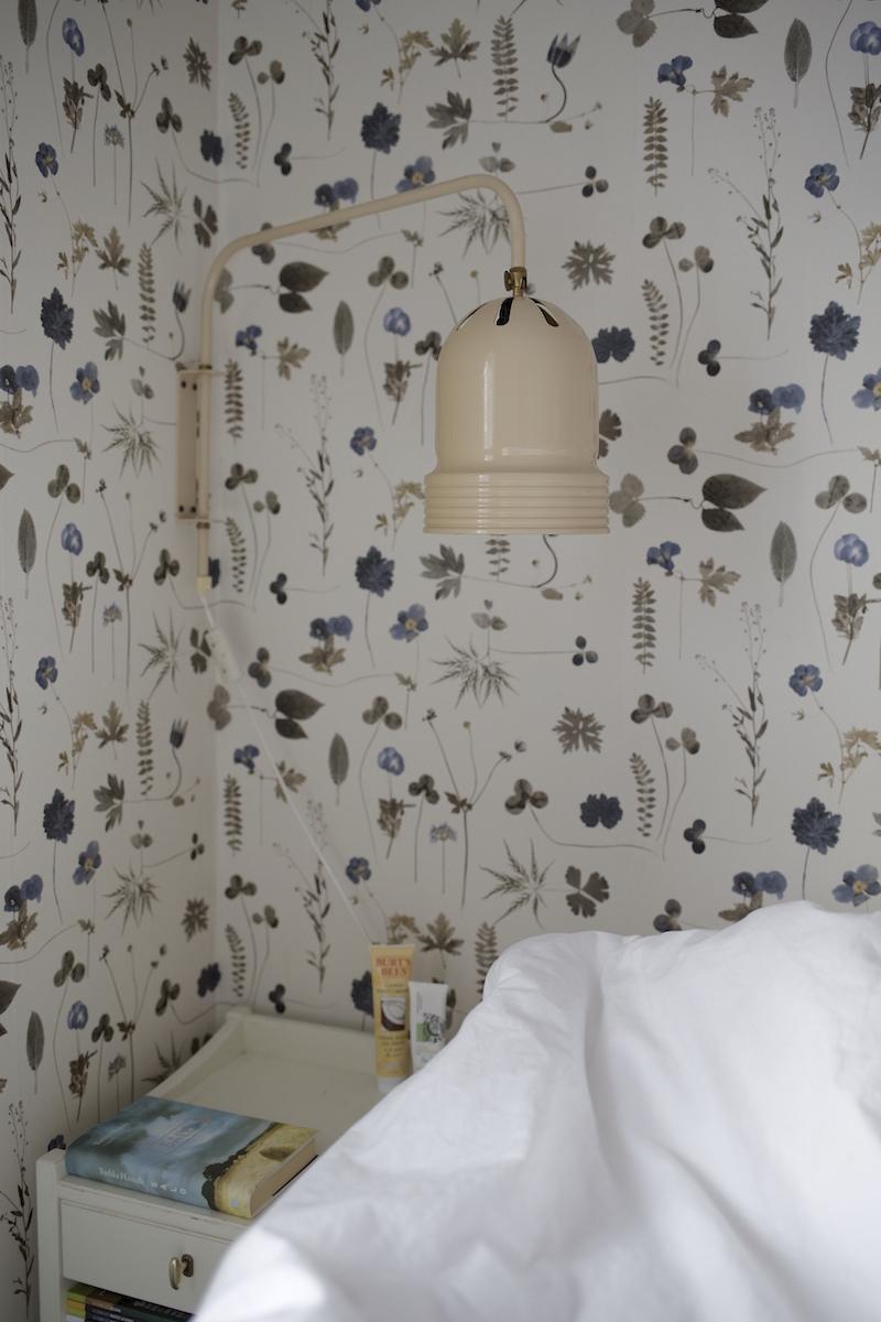 ker lux seinävalaisin eco wallpaper botanica