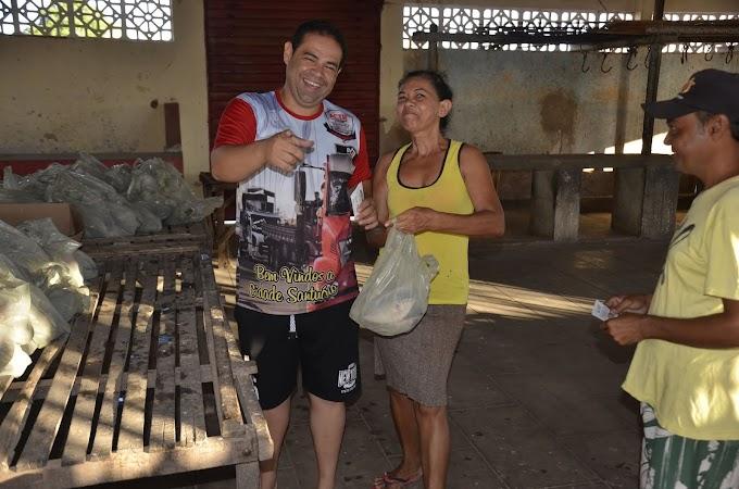 Logo mais toda cobertura das entregas dos Peixes da Semana santa realizada pela prefeitura de Japi