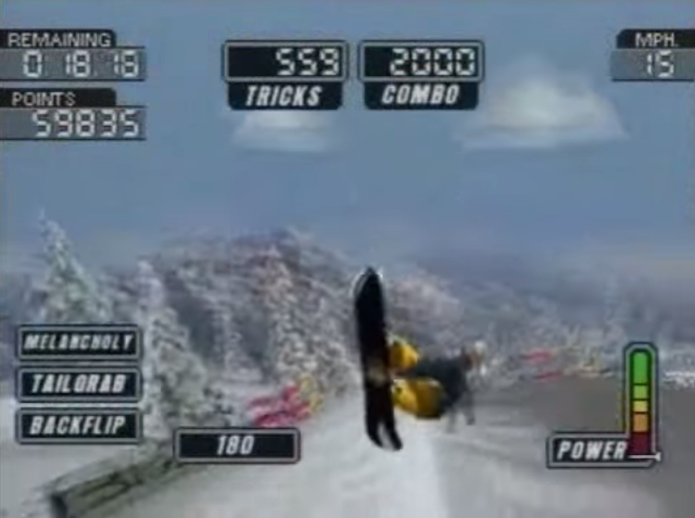 Games que marcaram - Manobras Coolboarders 3