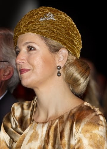 Crown Princess Maxima at the naming ceremony of the new LNG environmentally friendly gas tanker Coral Energy