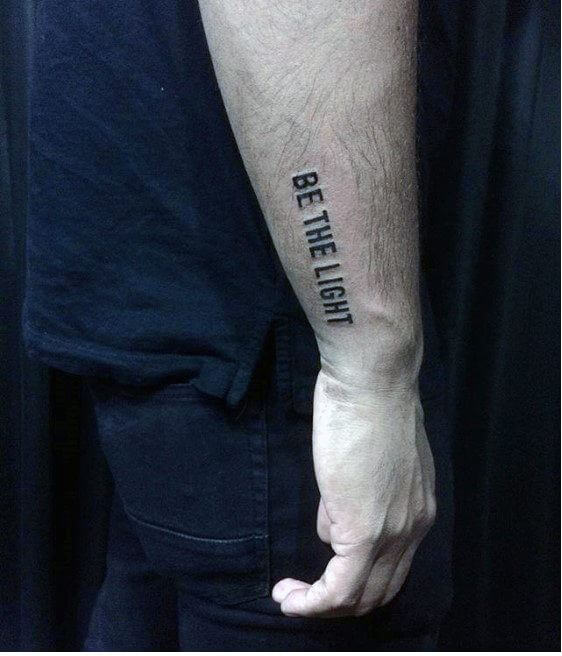 Short Tattoo Quotes Interesting 48 Inspirational Tattoo Quotes For Men To Try 48 TattoosBoyGirl
