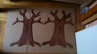 anelore scrap cie fabriquer un arbre en carton plume et papier cr pon. Black Bedroom Furniture Sets. Home Design Ideas