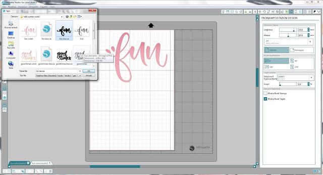 Come utilizzare singoli file .png nella modalità Print & Cut | Silhouette Cameo step4