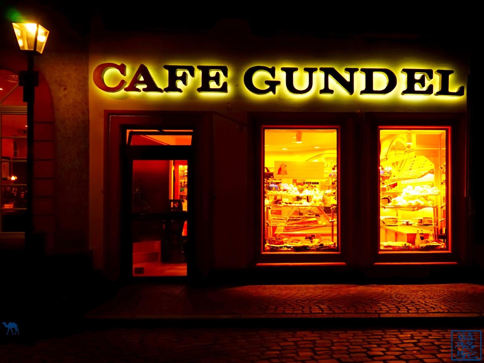 Le Chameau Bleu - Blog Voyage Heildeberg Allemagne - Café Gundel - Heidelberg