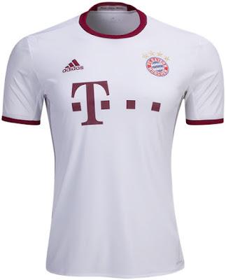 Bayern Munich Adult 2016-17 SS UCL Shirt