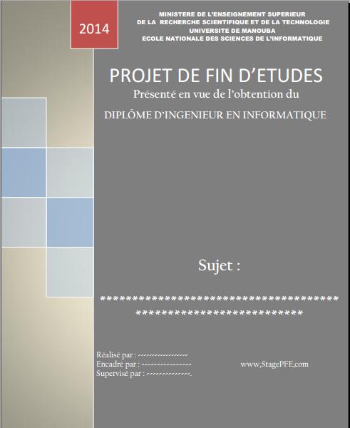 Docx Page De Présentation Mémoire