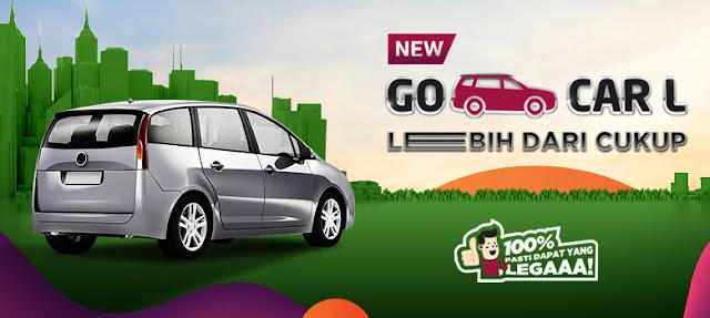 Go Car L, Layanan Taksi Online Kapasitas Besar dari Gojek Diluncurkan