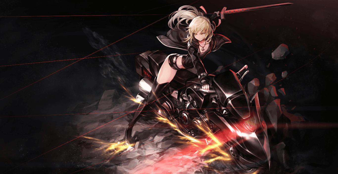 Fate Grand Order Saber Alter Cubey Wallpaper Engine Anime