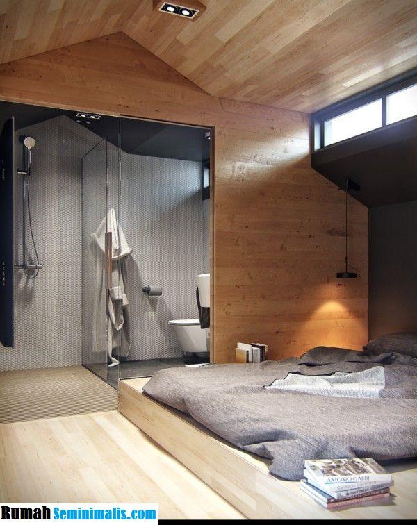 Model Desain Kamar Mandi Shower Modern Minimalis