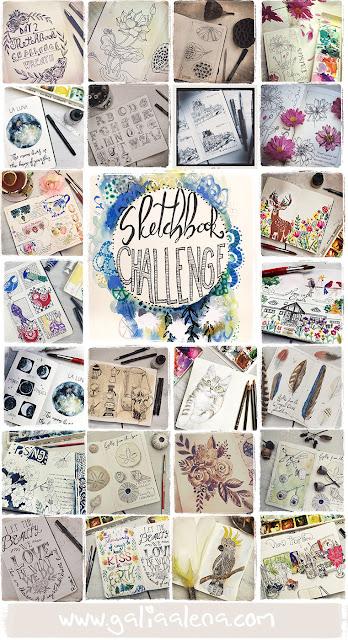 Sketchbook Challenge Galia Alena