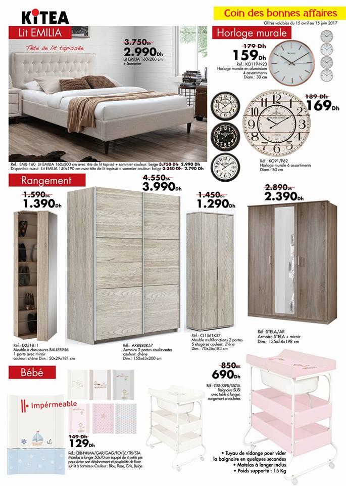 Kitea catalogue chambre a coucher design de maison for Chambre a coucher kitea