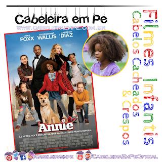 Versão de 2014 de Annie traz a personagem com os cabelos cacheados