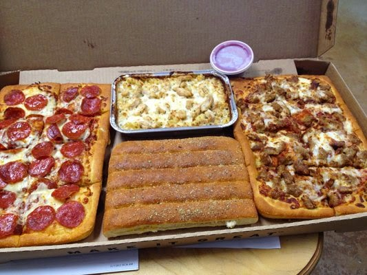 Jun 01,  · Brandon Landers, Delivery Driver at Order Up (present) How big is a medium pizza at Pizza Hut? How good is Domino's pizza or Pizza Hut compared to pizzas sold in Italy? What are the reviews for Pizza Hut's Meat Lovers pizza? Are the pizzas of Dominos and Pizza Hut healthy?