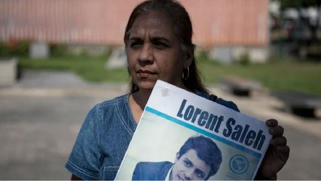 Madre de Lorent Saleh teme por vida de su hijo