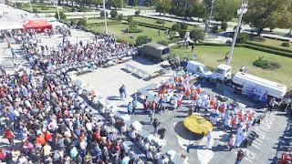 Gran locro solidario en Plaza Moreno a beneficio del Hospital San Martín