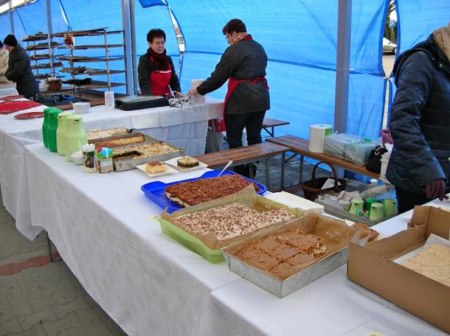 ciasta, placki, wypieki świąteczne, jarmark w Babimoście