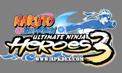 Naruto Shippuden Ultimate Ninja Heroes 3 ISO PSP