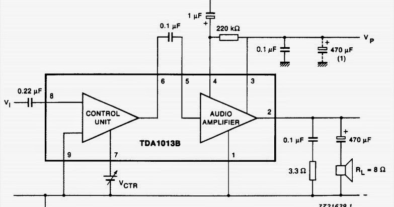 Circuit Wiring Solution: 4 W audio power amplifier with DC