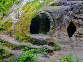 Урочище «Розгірче». Печерний монастир