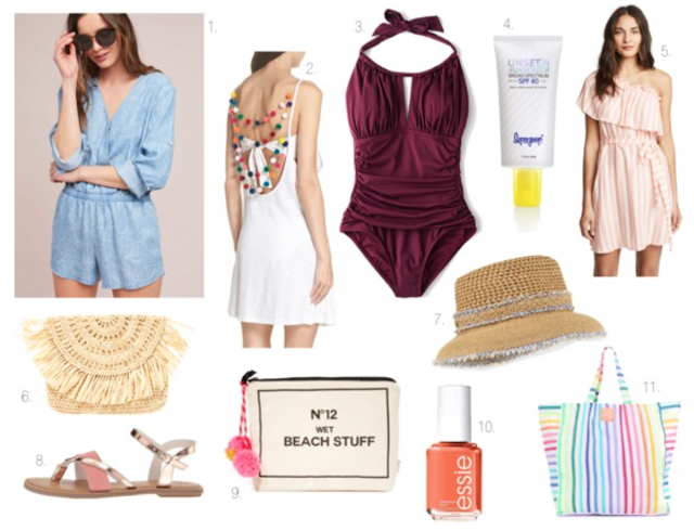 what to bring on a beach vacation