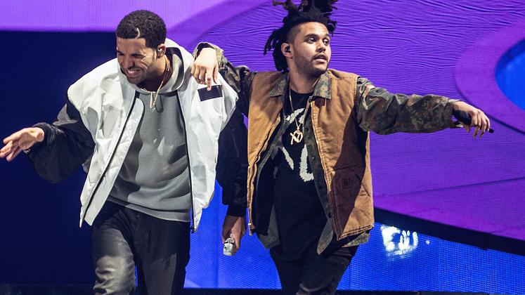 """""""Seria do caralho, como quando aconteceu com Kanye e Jay Z"""", disse o cantor de """"Starboy""""."""